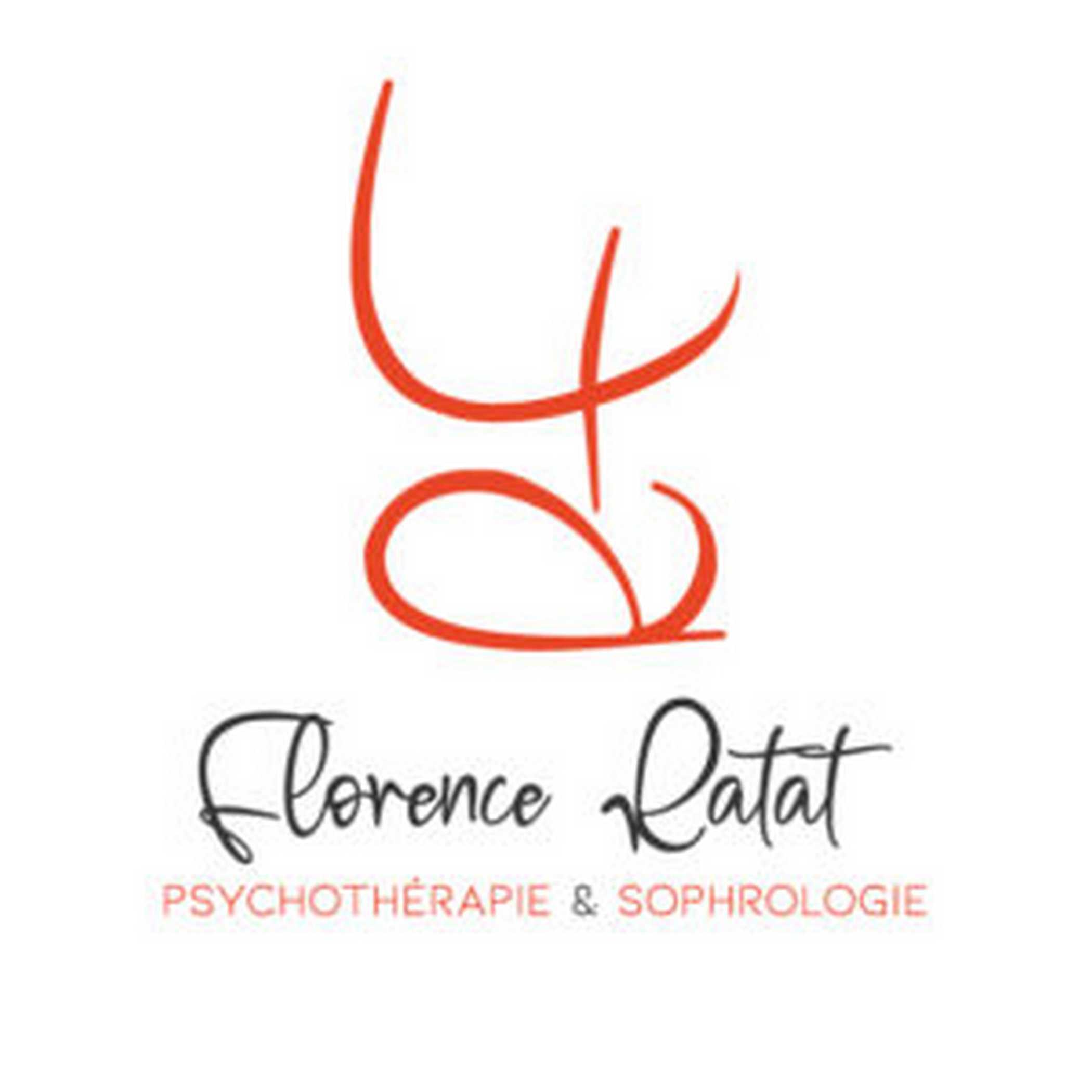 Logo Vertical Florence Ratat - Psychothérapie - Sophrologie